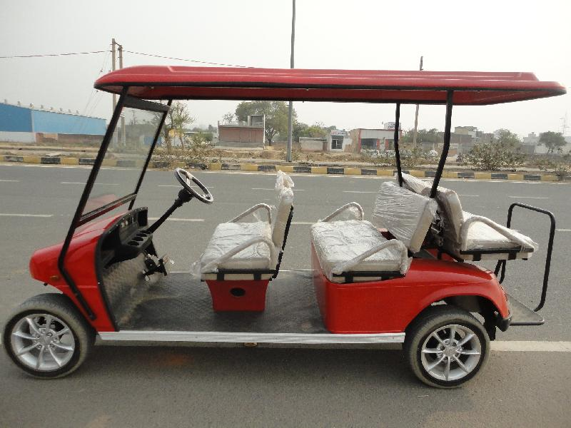 6 Seater (4 Front +2 Rear) Golf Cart