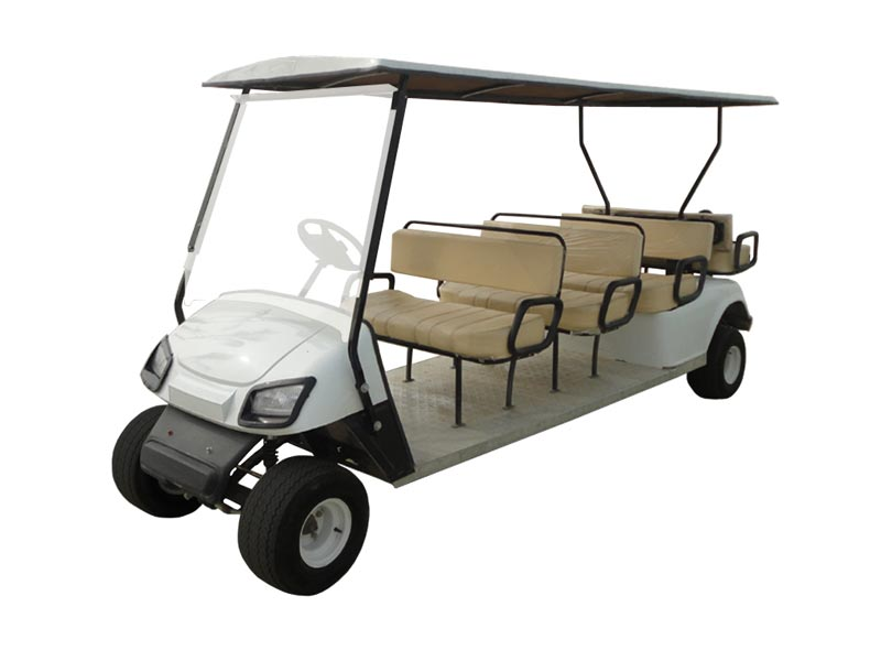 8 Seater (6 Front + 2 Back) Golf Carts