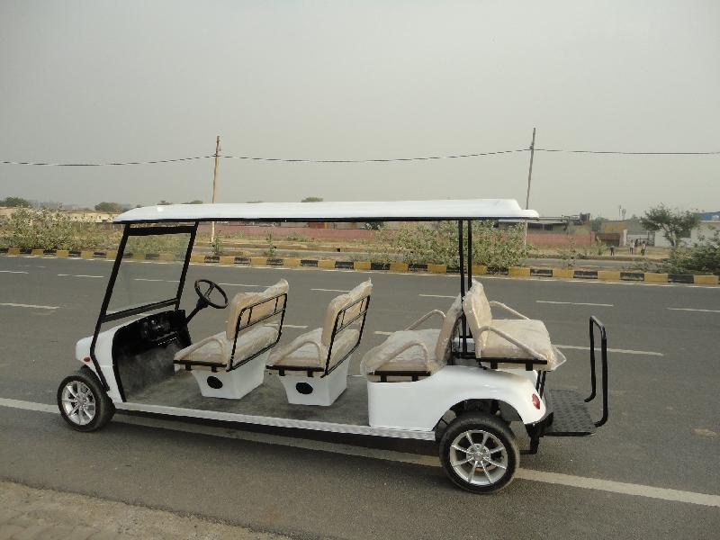 8 Seater Side View Golf Cart