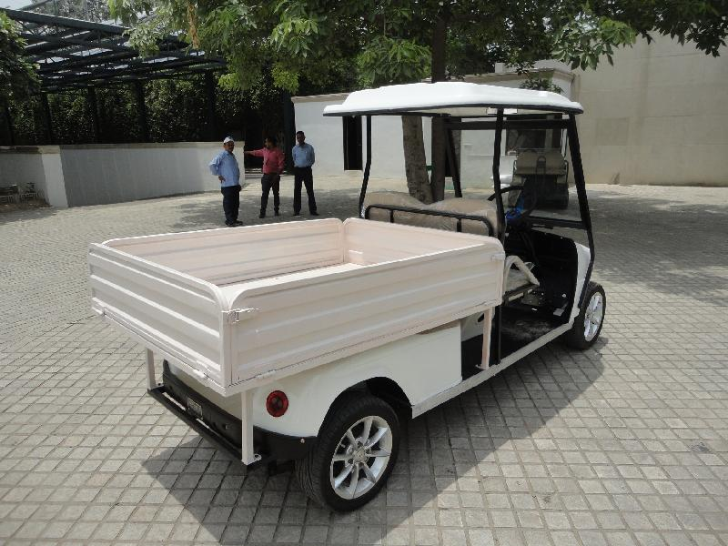 Battery Operated Loading Cart 01