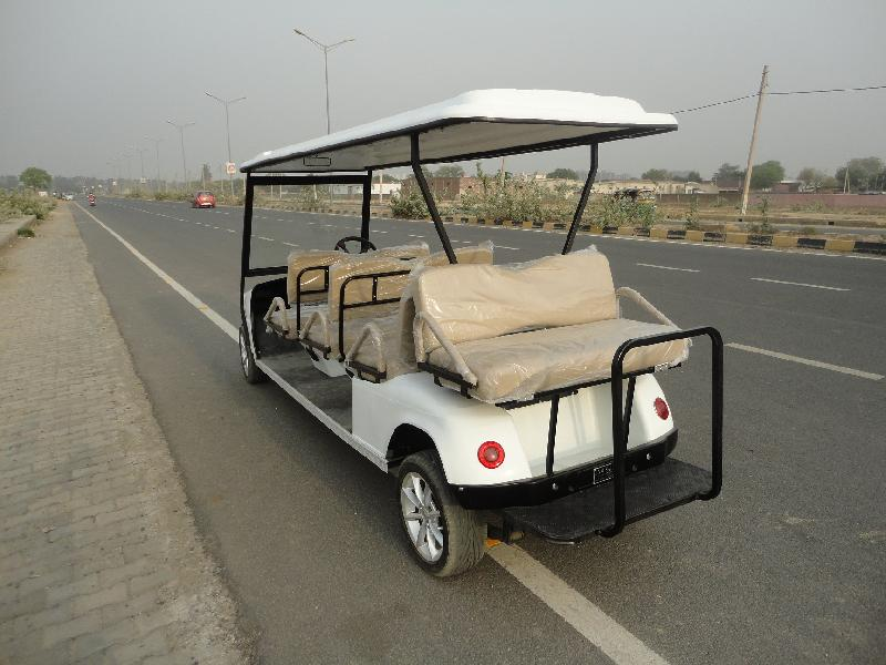 Rear Seat of 6 Seater Golf Cart