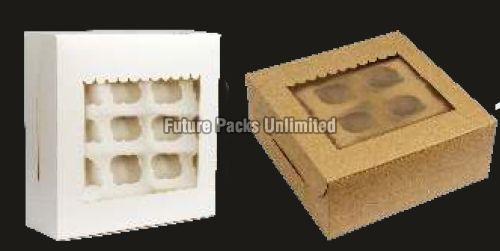 12 Large Cupcake Boxes