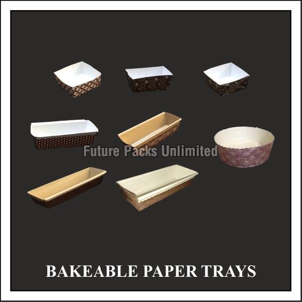 Bakeable Paper Trays