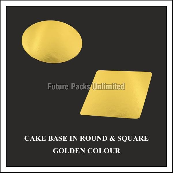Golden Cake Base Board