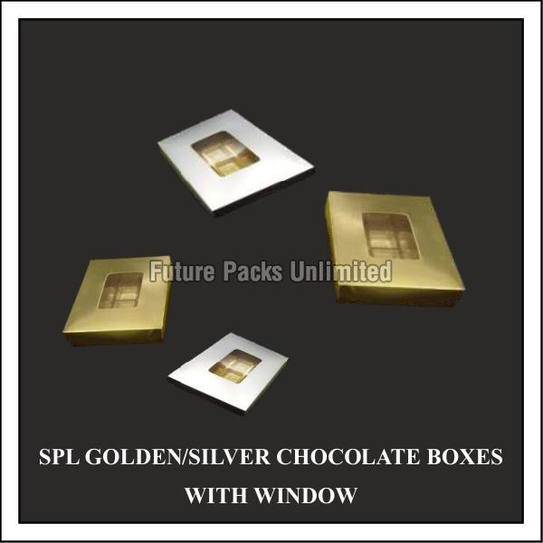 Golden & Silver Chocolate Box 01