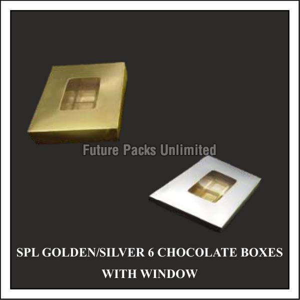 Golden & Silver Chocolate Box 03