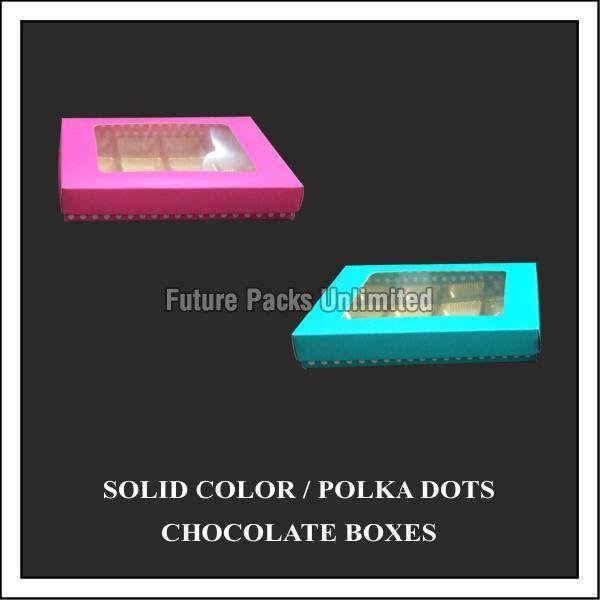 Polka Dots Chocolate Boxes