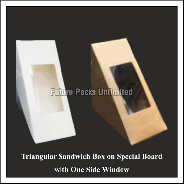 Triangular Sandwich Boxes