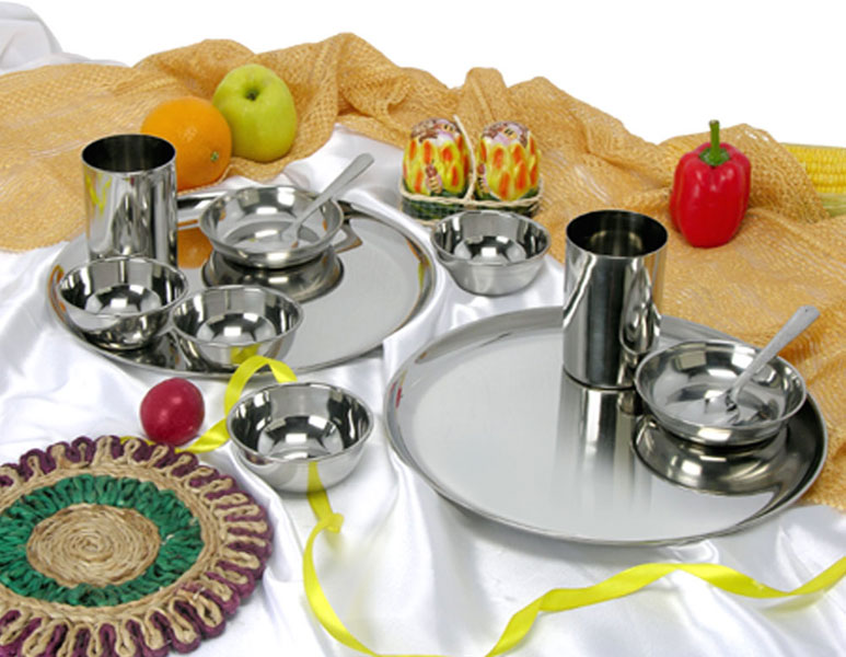 12  Piece Stainless Steel Dinner Set