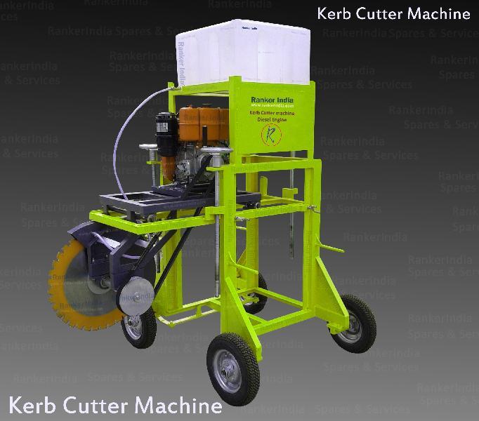 Curb -Divider Cutting Machine