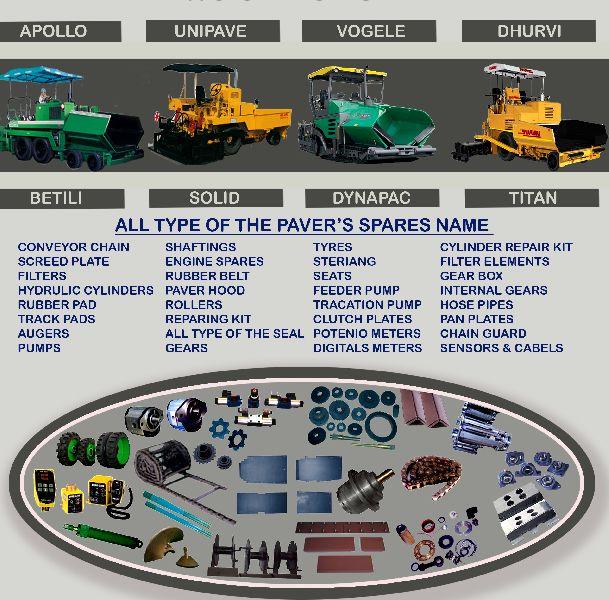 Sensor Paver  & Spare parts