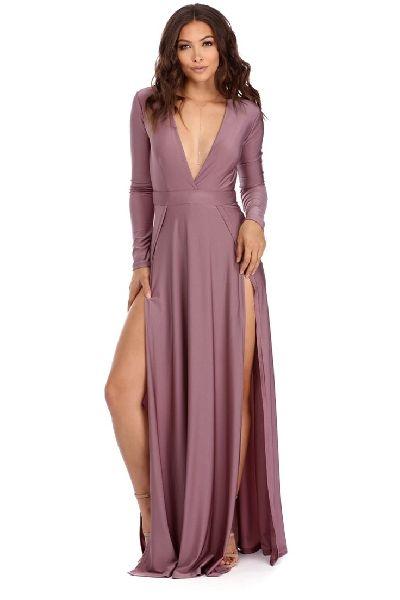 Slit Dresses