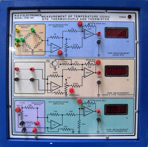 Instrumentation Trainer Kit