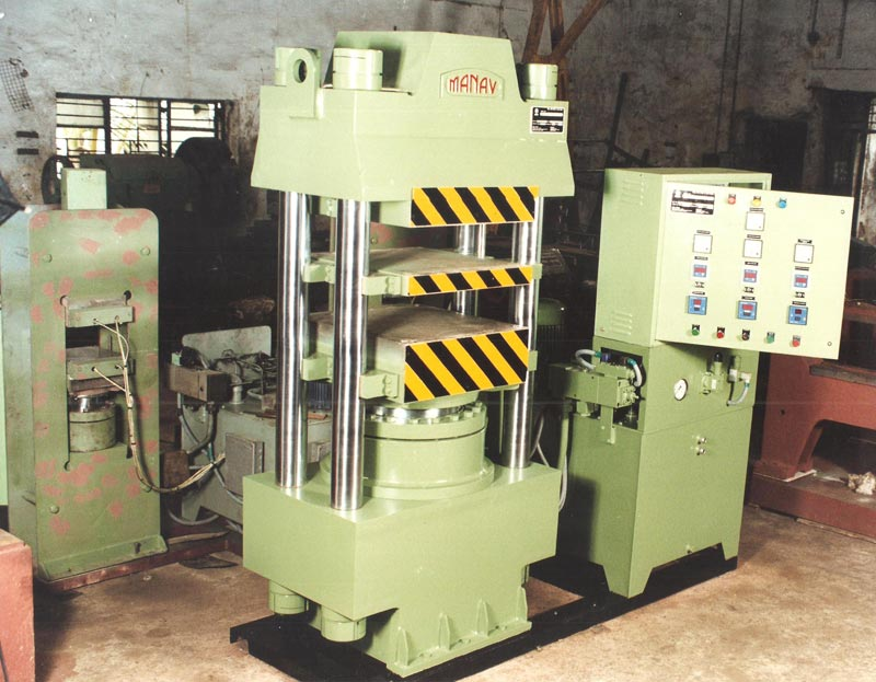 24 x 24-200Tons Double day light - Automatic Press