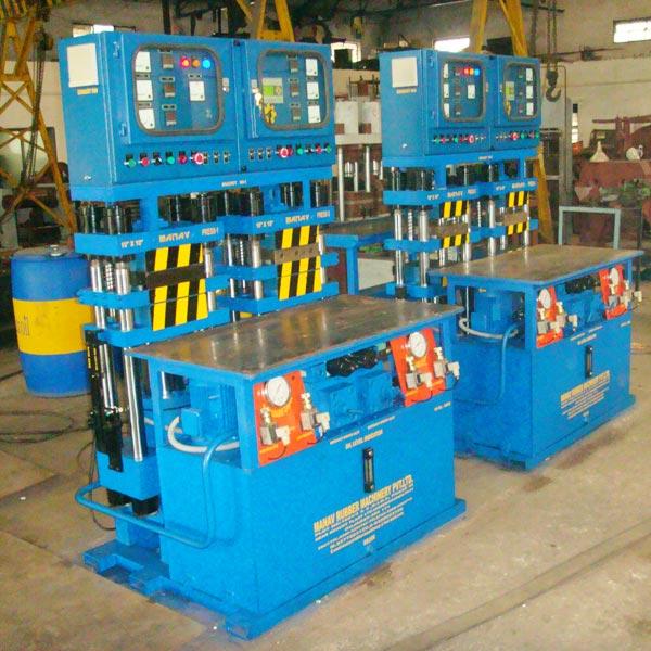 37 Ton Compact Model - Automatic press