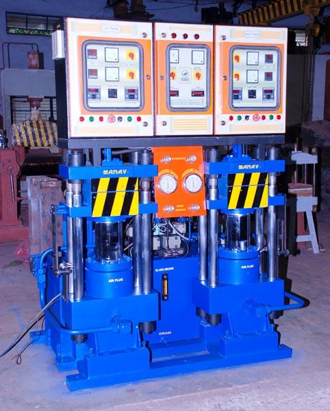 37Ton - 10 x 10 - 2D. light, PLC Base Hydraulic Compact Model