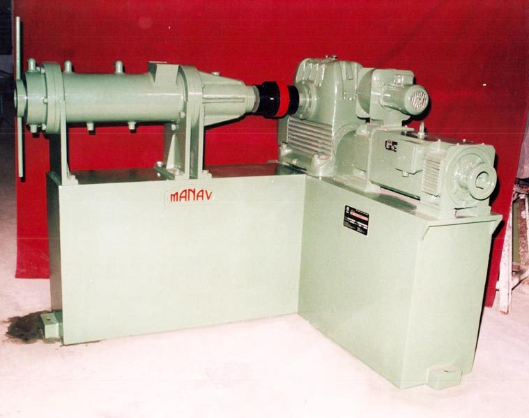 75MM Veriable Speed Extruder L.D. Ratio 6-1
