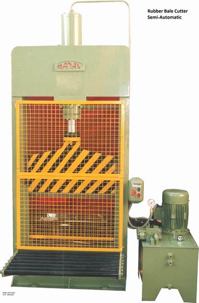 Semi Automatic Rubber Bale Cutter