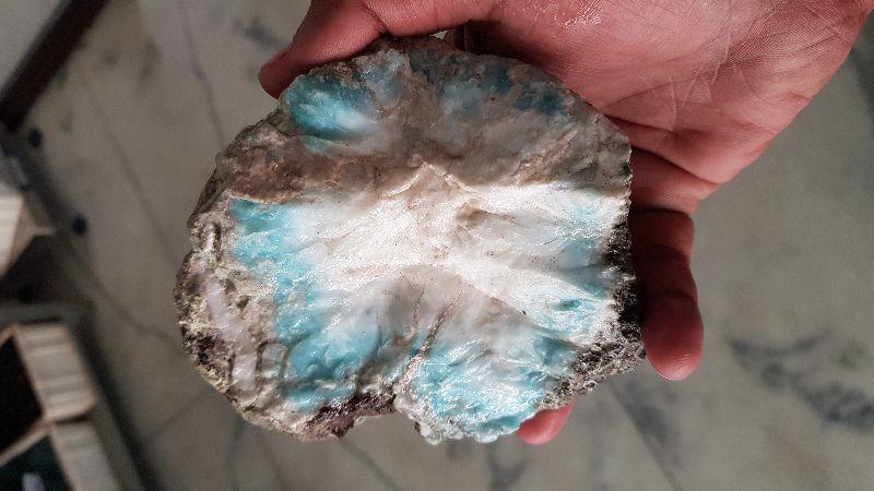 Blue Larimar Stone