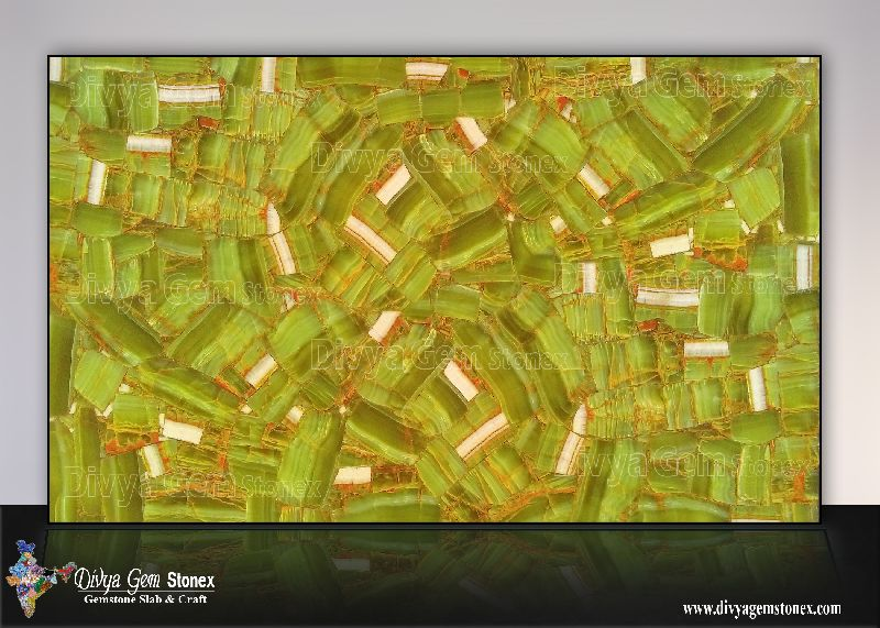 Green Quartz Slab