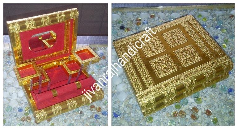 Golden Jewellery Boxes