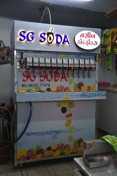12+2 Soda Fountain Machine