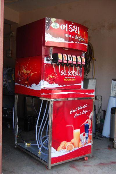 6+2 Soda Fountain Machine 03