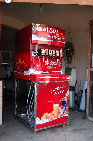 6+2 Soda Fountain Machine 04