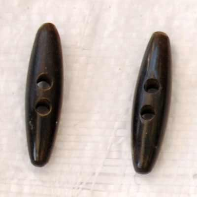 Buffalo Horn Button 10