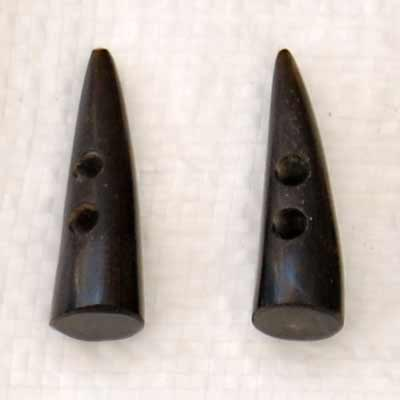 Buffalo Horn Button 11