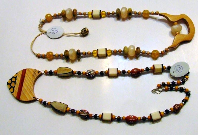 Horn & Bone Necklace 03