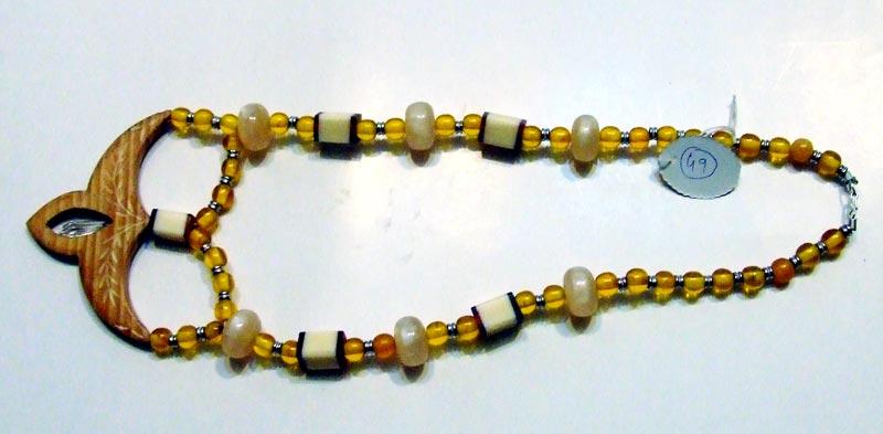 Horn & Bone Necklace 04