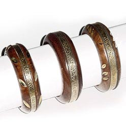 Wooden Bangles 10