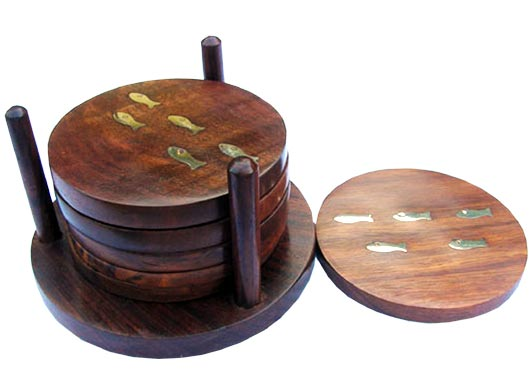 Wooden Coaster 03