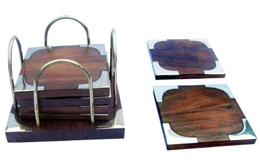 Wooden Coaster 04