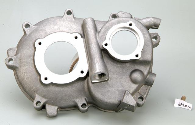 Piaggio Ape Differential Gearbox Cover