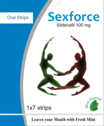Sexforce Oral Strips 100 mg
