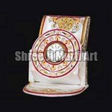 Marble Handicraft Clock