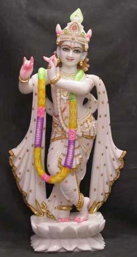 Marble Krishna Statues 02