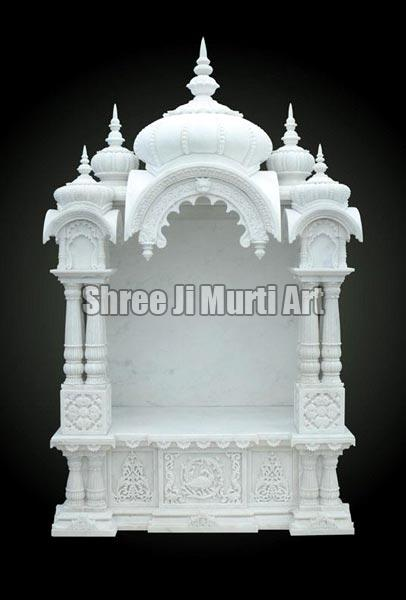 White Marble Temple Decorative Marble Temple Marble Stone