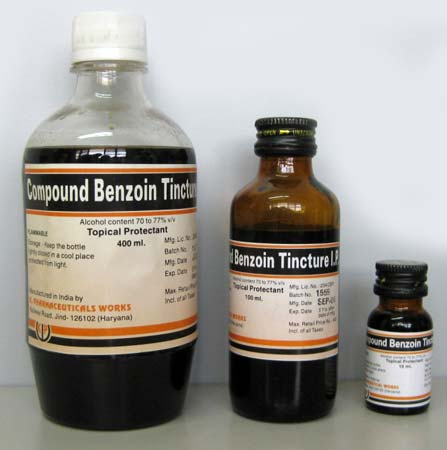 Compound Benzoin Tincture