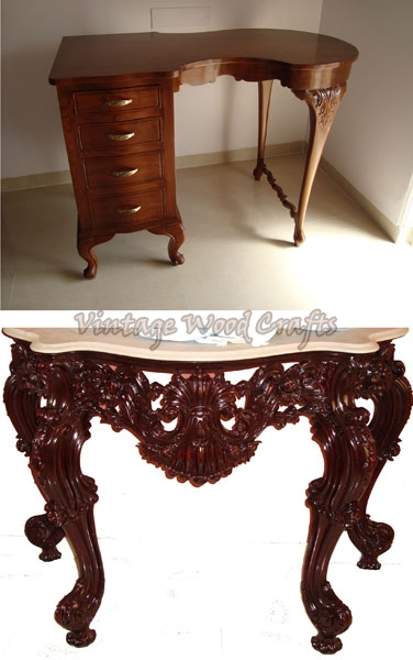 ... Classic Design Wooden Study Table ...