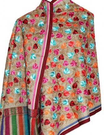 Aari Pure Wool Stole