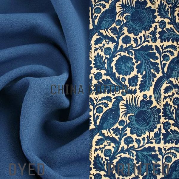 Polyester China Cotton Dyed And Printed Fabric