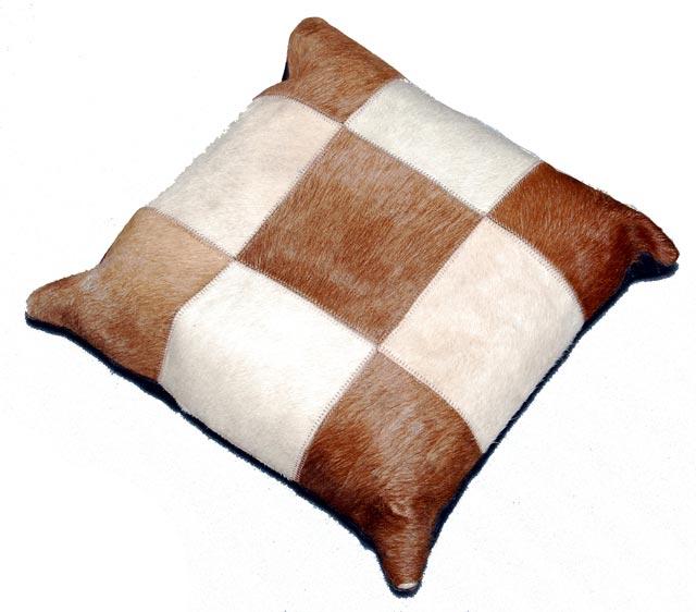 Hair on Hide Cushions