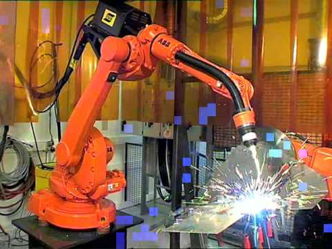 Robot Welding Machine