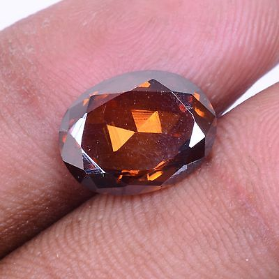 Oval Cut Brown Moissanite Diamond