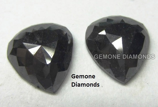 Fancy Shape Black Diamonds