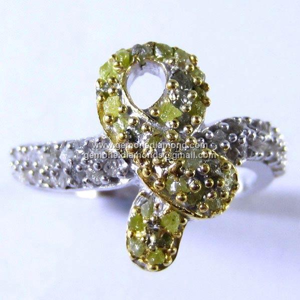 Designer Rough Diamond Rings