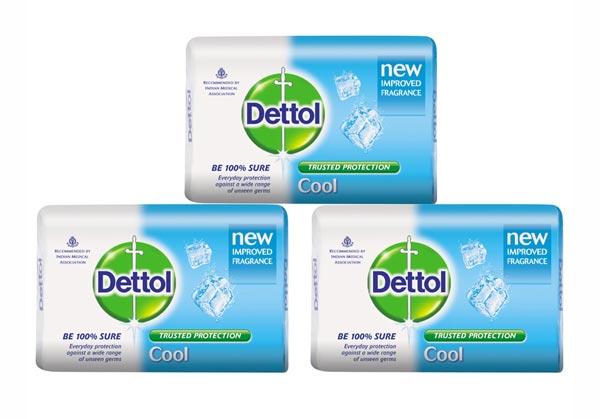 Dettol Blue Soap Wrapper